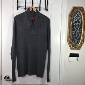 Zara Man XL Gray Sweater